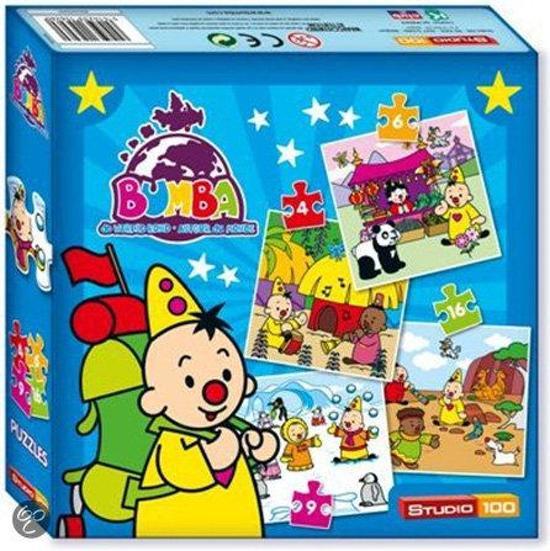 Puzzel Bumba De Wereld Rond 4 Puzzels