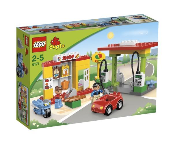 Benzinestation Lego Duplo 6171