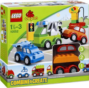 Lego 10552 Creatieve Auto´s Duplo