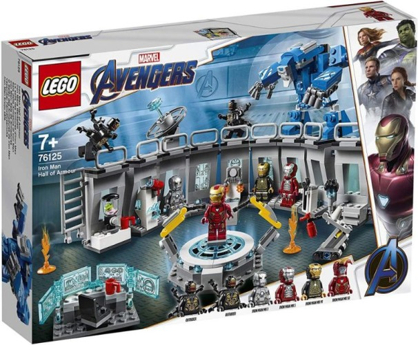 Iron Man Hall of Armour Lego (76125)