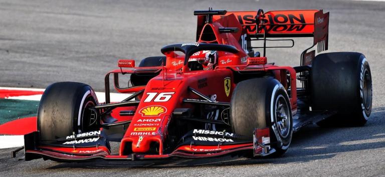 Ferrari SF90 SCUDERIA FERRARI #16 CHARLES LECLERC AUSTRALIAN GP 2019 B.B.R.(1:18)