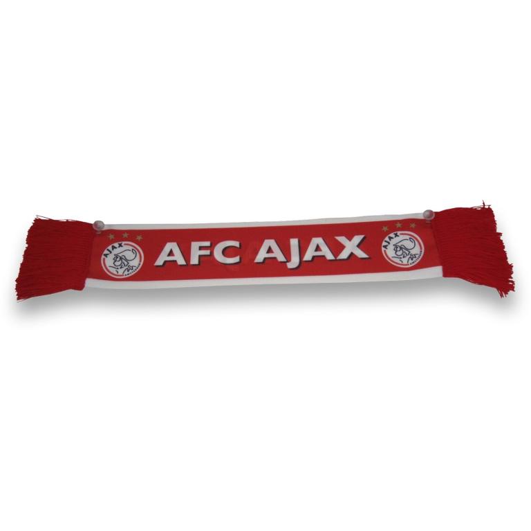Ajax Minisjaal Wit/Rood/Wit 50 x 9 cm