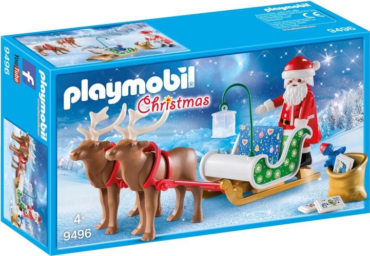 Kerstslee met rendieren Playmobil (9496)
