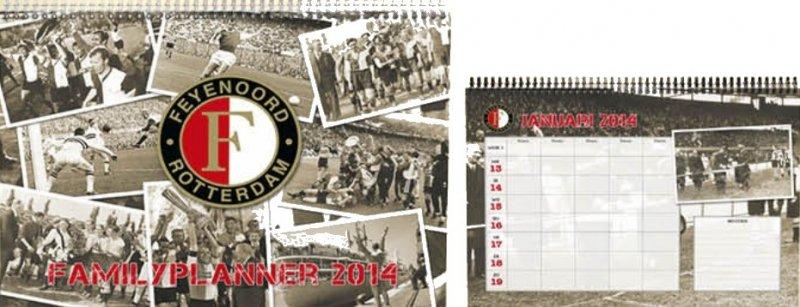 Kalender Feyenoord Familiekalender 2014