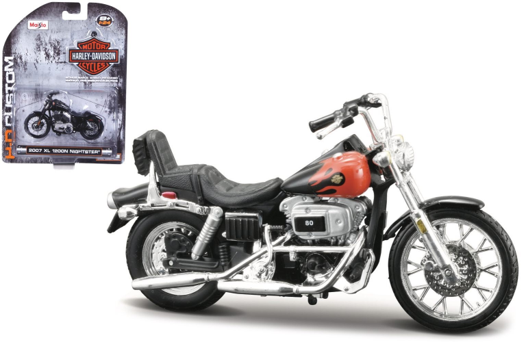 Harley-davidson FXWG WIDE GLIDE 1980 (MAISTO 1:24)