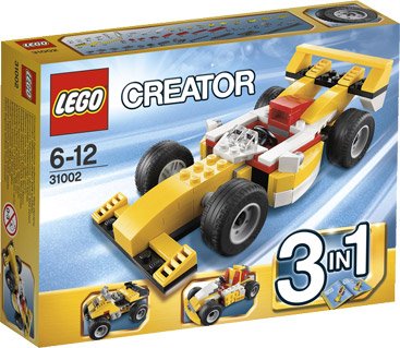 Lego 31002 Creator 3 in 1 Super Racer