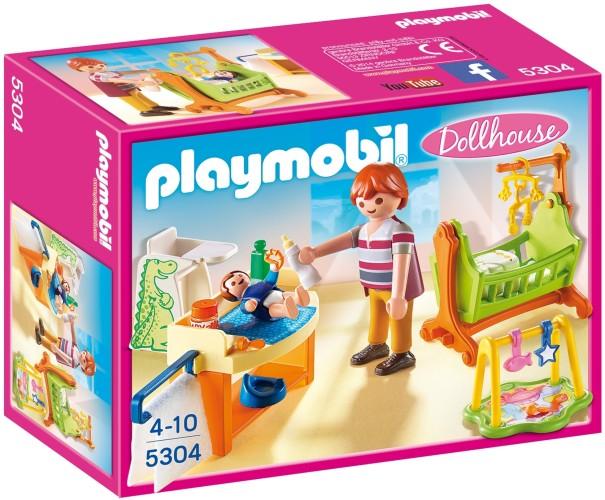 Playmobil Babykamer met wieg Playmobil (5304)