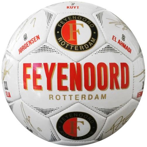 Bal Feyenoord Leer Large Handtekeningen
