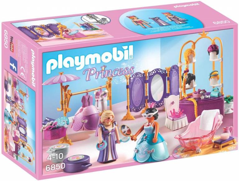 Koninklijke dressing en schoonheidssalon Playmobil (6850)