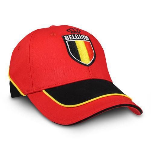 Cap Belgium Rood Belgie