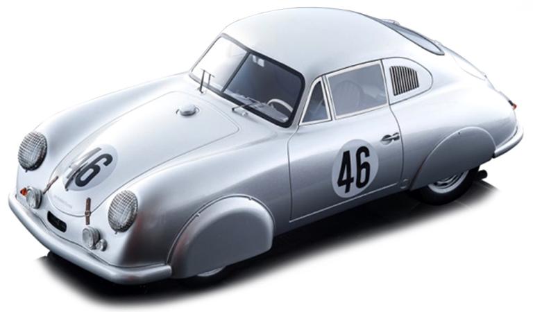 Porsche 356 SL 46 VEUILLET/MOUCHE 24H LE MANS 1951 (I:18) TECNO MODELS