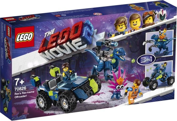 Rex Rex-treme offroader Lego (70826)