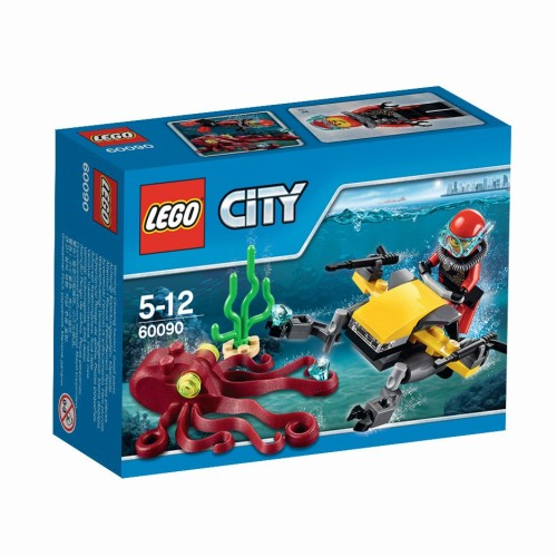Diepzee Duik Scooter Lego (60090) City