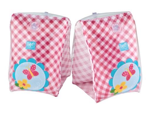 Zwemvleugels Lief Roze 50 cm