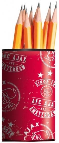 Pennenbakje Ajax Rood/wit since 1900