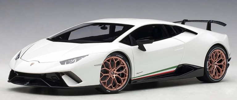 Lamborghini HURACAN PERFORMANTE 2017 (WIT) AUTOART (1:18)