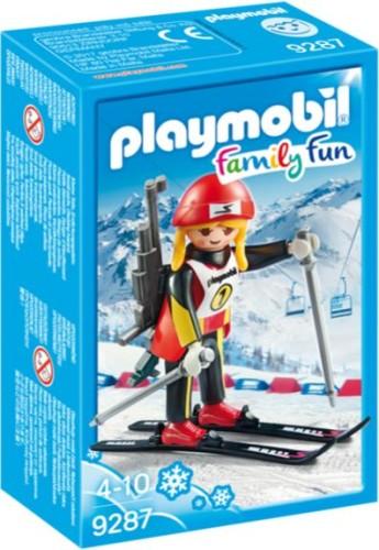 Skiër op Snowblades Playmobil (9284)
