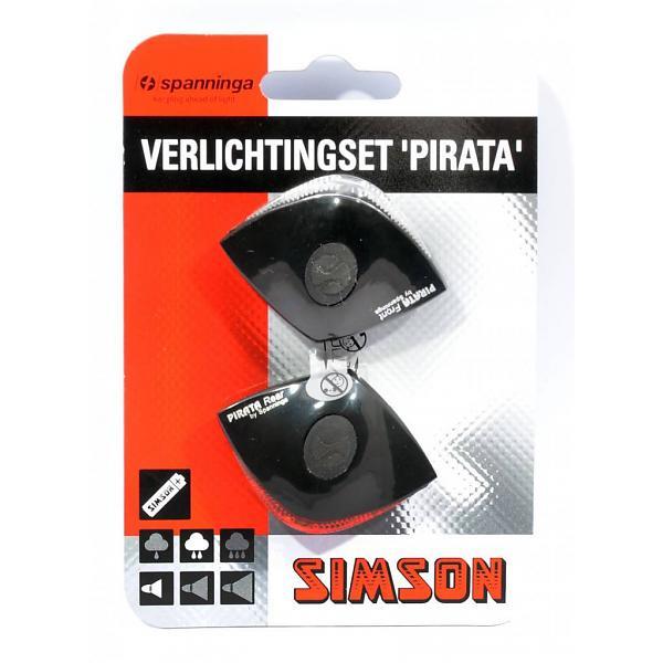 Spanninga verlichtingsset Pirata