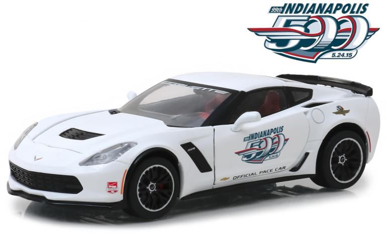 Chevrolet CORVETTE Z06 INDIANAPOLIS 500 PACE CAR 2015 (1:24) (55076-18252) GREENLIGHT COLLECTIBLES