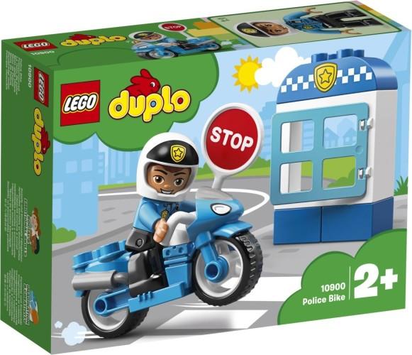 Politiemotor Lego Duplo (10900)