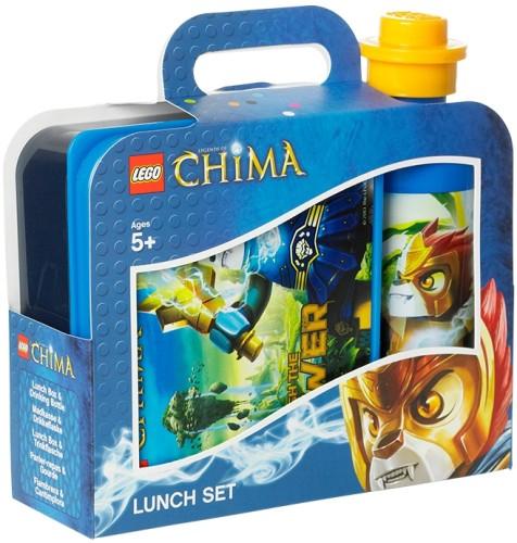 Lunchset Lego Chima Blauw