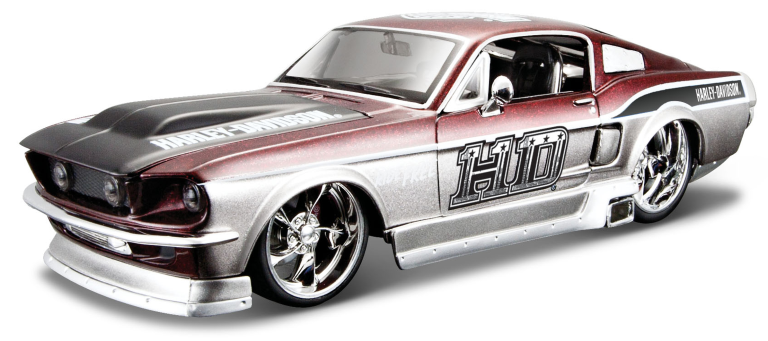 FORD MUSTANG GT (MAISTO 1:24)