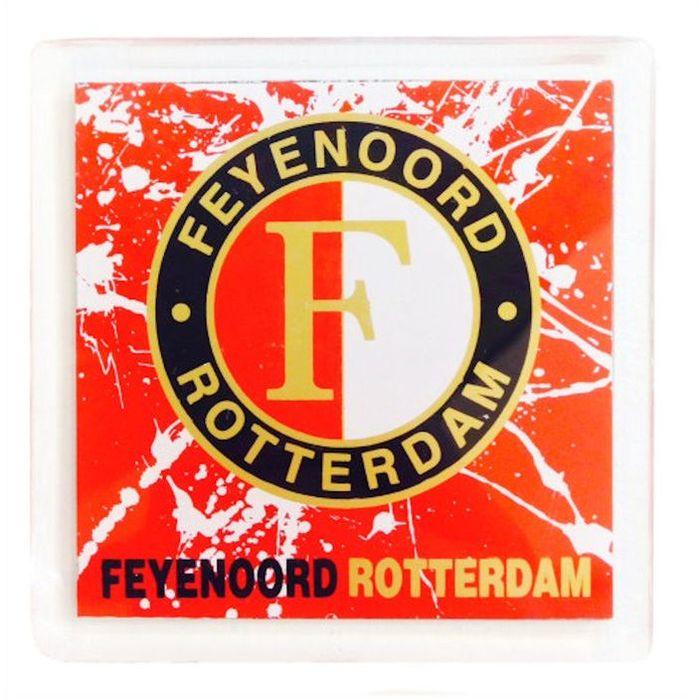 Magneet Feyenoord Logo Spetter 6 x 6 cm