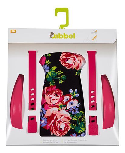 Qibbel stylingset achterzitje Blossom Roses Black,