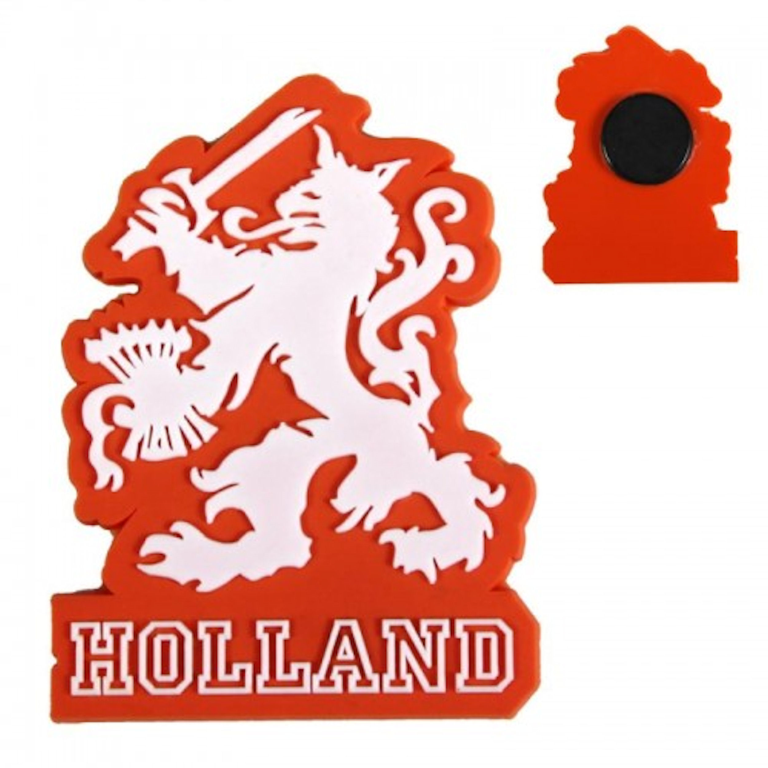 Magneet Holland Leeuw Oranje