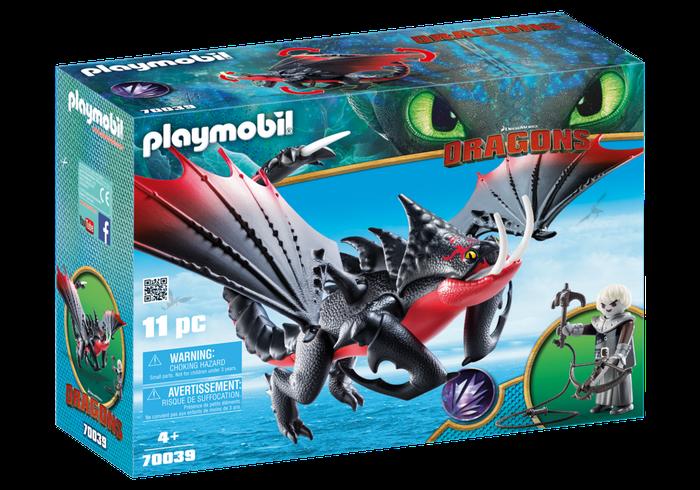 Dodenklauw en Grimmel Playmobil (70039)