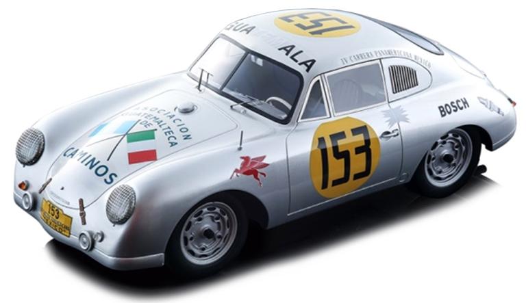 Porsche 356 SL 53 CONTRERAS-ALFONSO CARRERA PANAMERICANA 1953 (I:18)TECNO MODELS