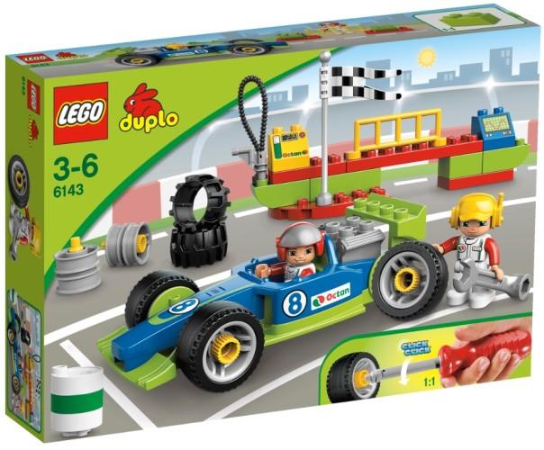 Lego 6143 Raceteam Duplo