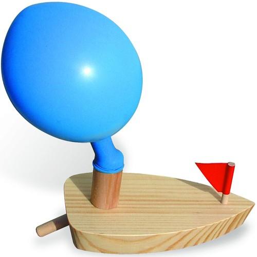 Ballonboot Hout