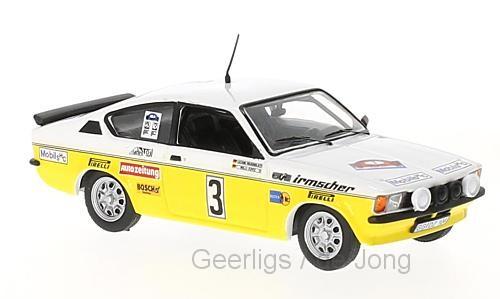 Opel KADETT GTE 3 A.WARMBOLD/W.PITZ RALLY HUNSRUCK 1978 IXO (1:43)