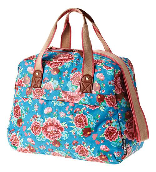 TAS BAS BLOOM CARRY ALL DIVA BLAUW 18L