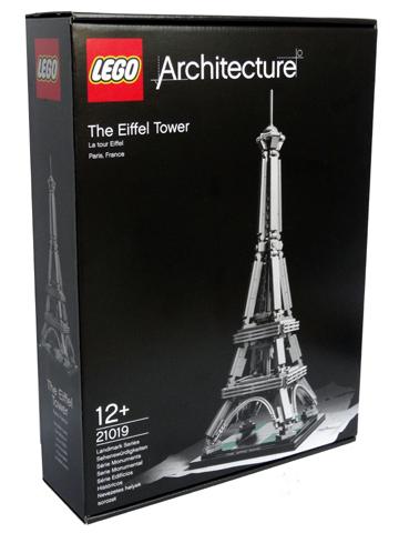 Architecture De Eiffeltoren Lego 21019