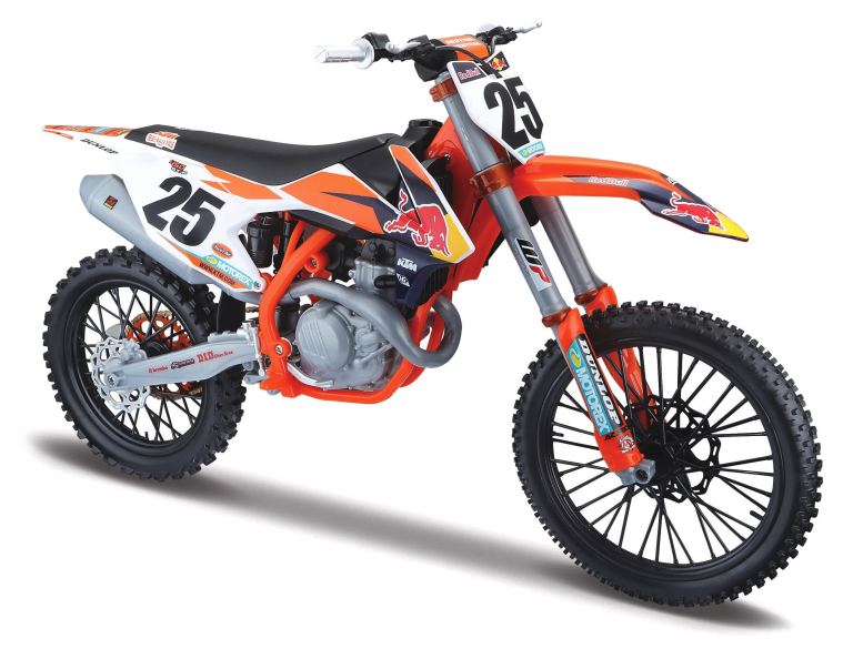 Ktm 450 SX-F 25 MARVIN MUSQUIN (FRENCH RIDER) RED BULL KTM SUPERCROSS (1:6)
