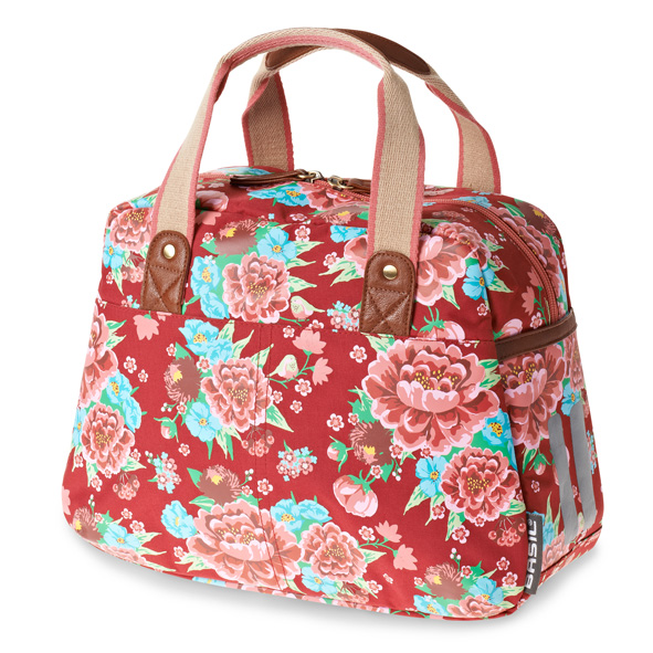 TAS BAS BLOOM GIRLS CARRY ALL SCARLET ROOD 11L