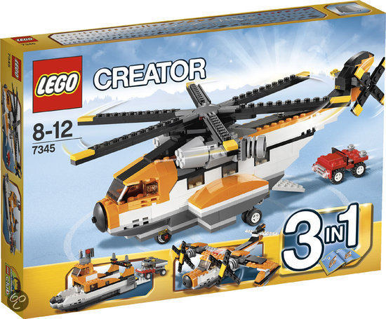 Creator 3 in 1 Transporthelikopter Lego 7345