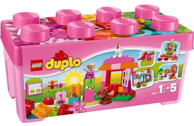 Alles-in-een doos roze Lego Duplo (10571)