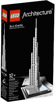 Architecture Burj Khalifa Lego 21008