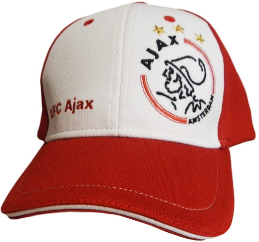 Ajax Cap Rood/wit AFC Senior