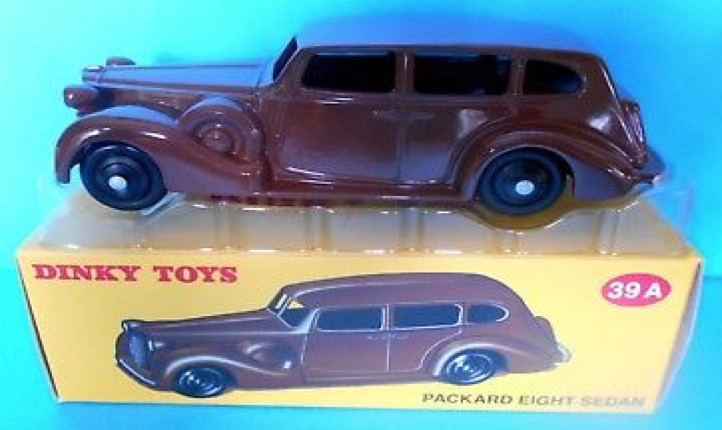 Packard EIGHT Maroon (I:43) DINKY TOYS