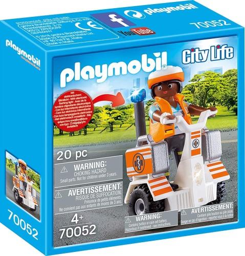 Eerste hulp balans racer Playmobil (70052)
