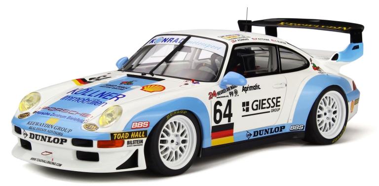 Porsche 911 GT2 64 KONRAD-KTCHAK-SLATER TEAM 24H LE MANS 1999 (GT SPIRIT)(1:18)