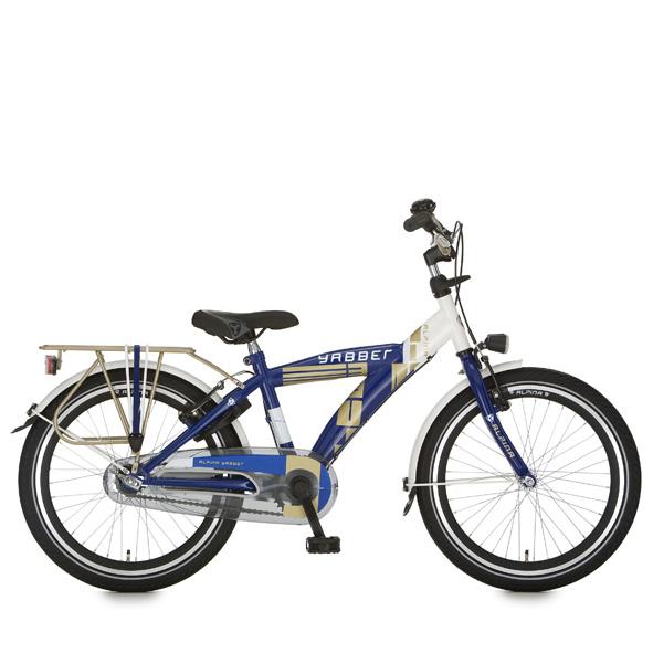 Alpina fiets Yabber 20 J rn wt/blauw