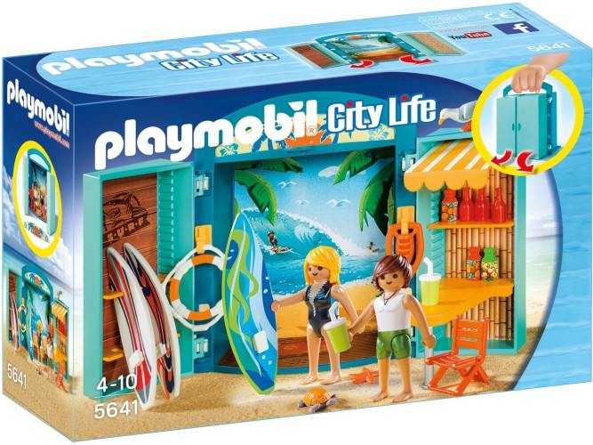 Playmobil Speelbox Surfshop (5641)