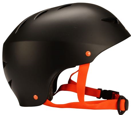 Fietshelm Skate Helm Aggressive L Zwart