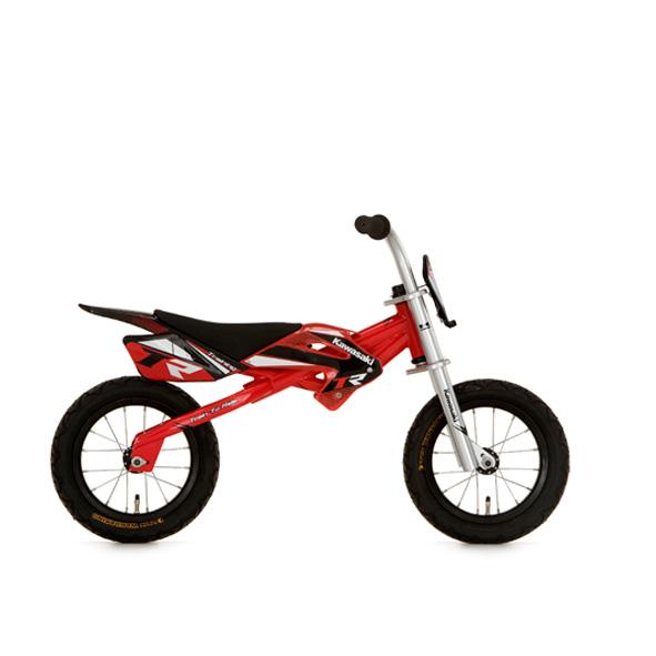 Kawasaki loopfiets 12 J metaal rood