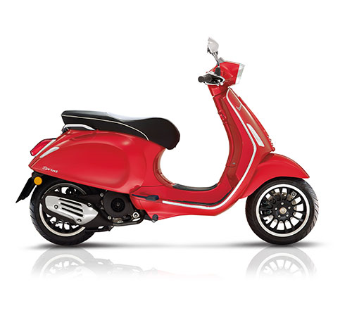 Vespa Scooter 45km Sprint 4t-4v Rood Dragon 894 25 KM